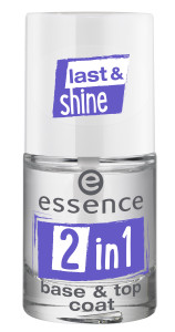 ess. 2in1 base & top coat