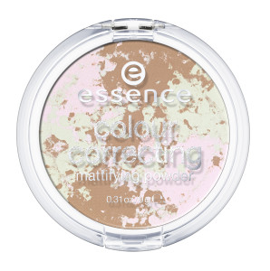ess. colour correcting mattifying powder