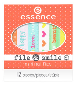ess. file & smile mini nail files