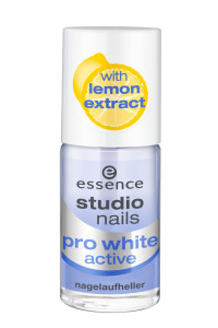 ess.studio nails pro white active