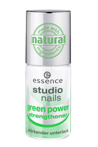 ess. studio nails green power strengthener