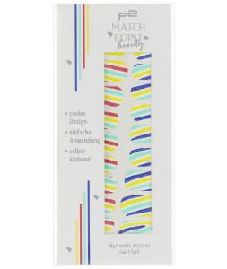 dynamic stripes nail foil