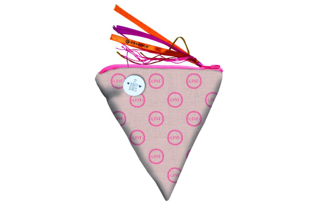 essence bloggers' beauty secrets cosmetic bag