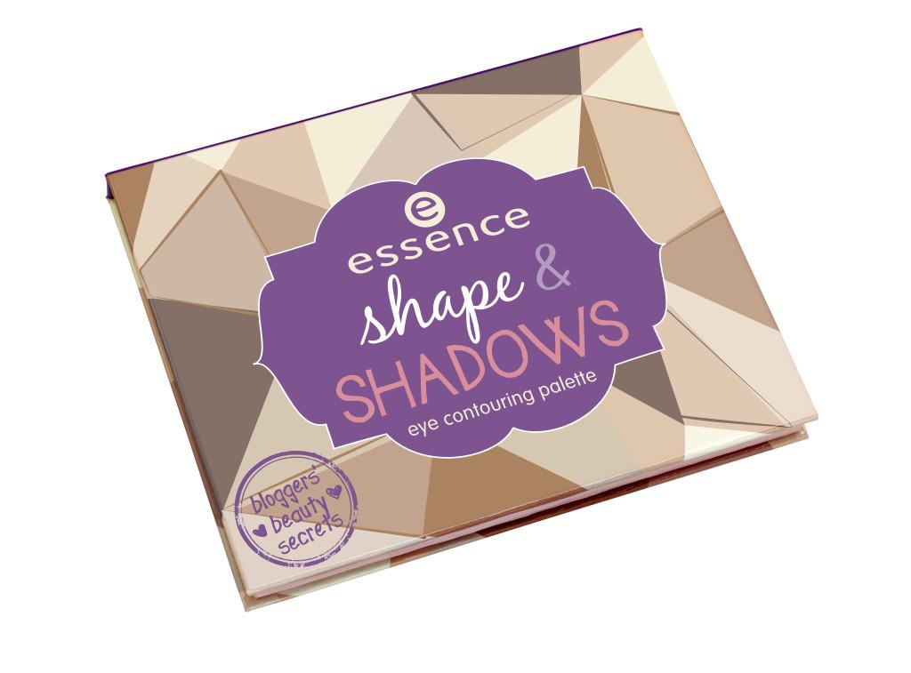 essence bloggers' beauty secrets shape & shadows eye contouring palette