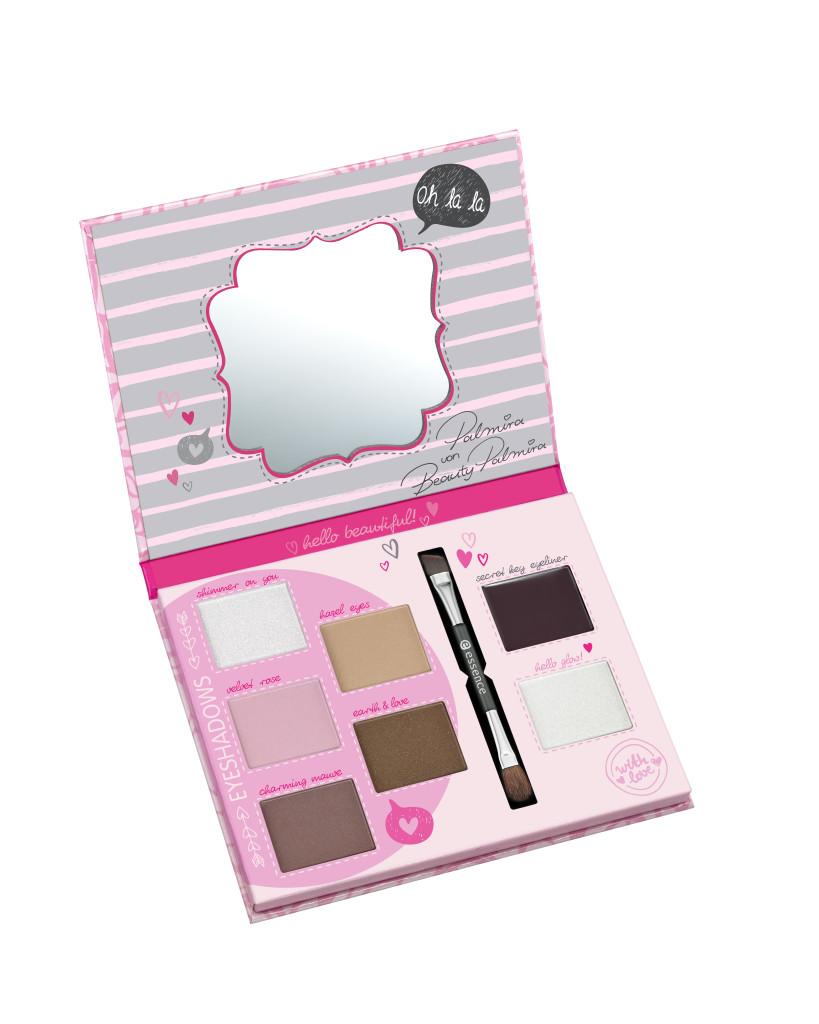 essence bloggers' beauty secrets vintage rose eye palette