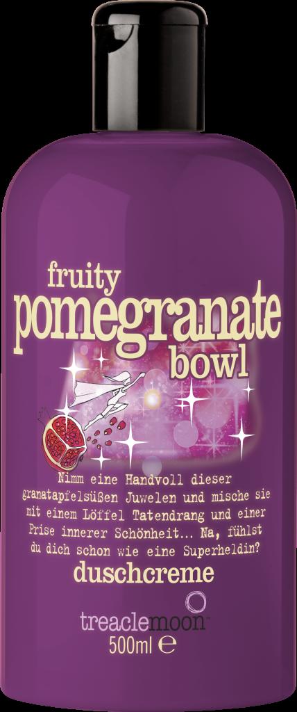 fruity pomegranate bowl duschcreme